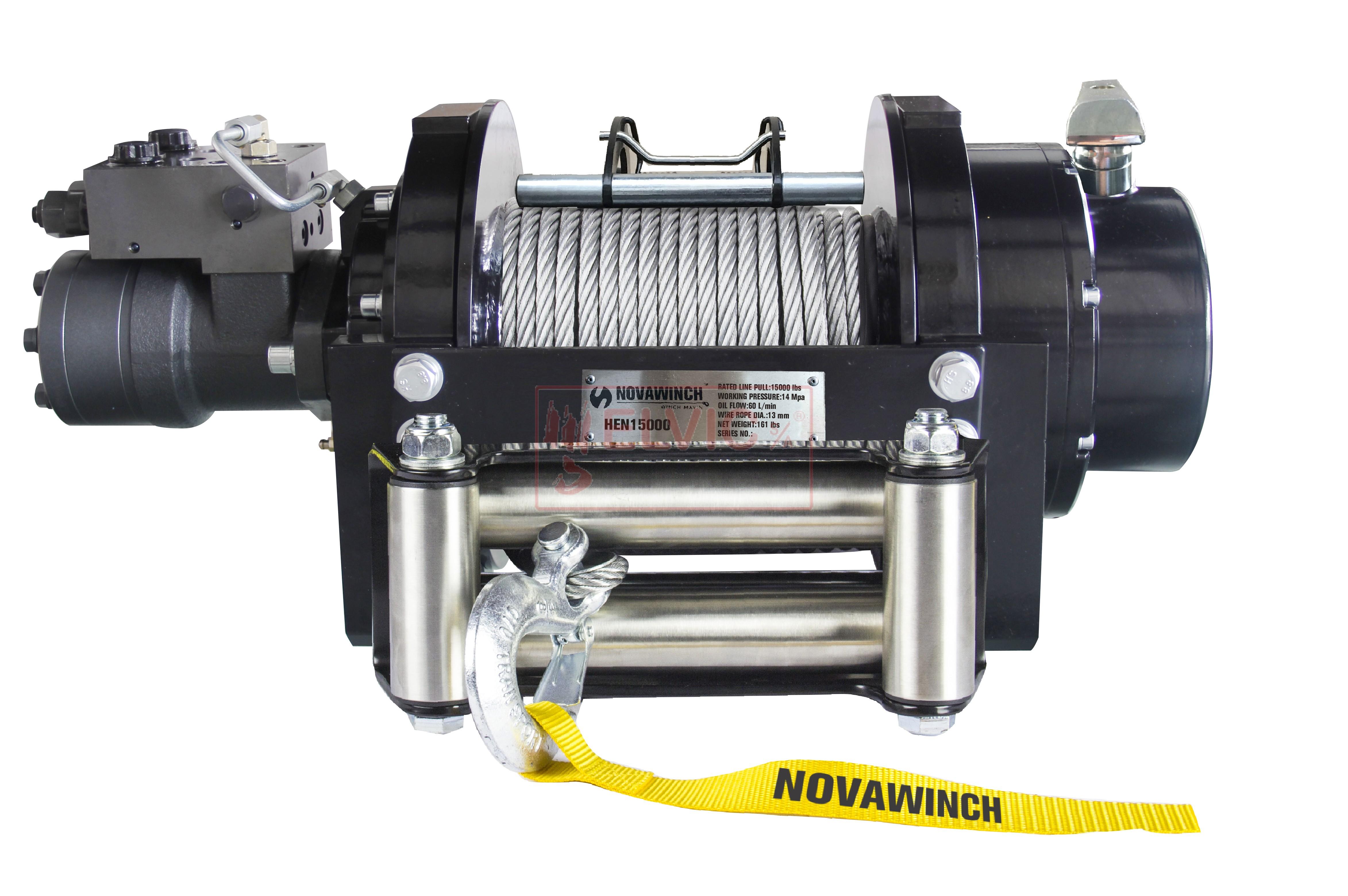 CABRESTANTE NOVAWINCH HIDRÁULICO HEN 15000  +G+T (6.810 Kg)(6.810 Kg)