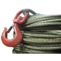 Cable acero con gancho