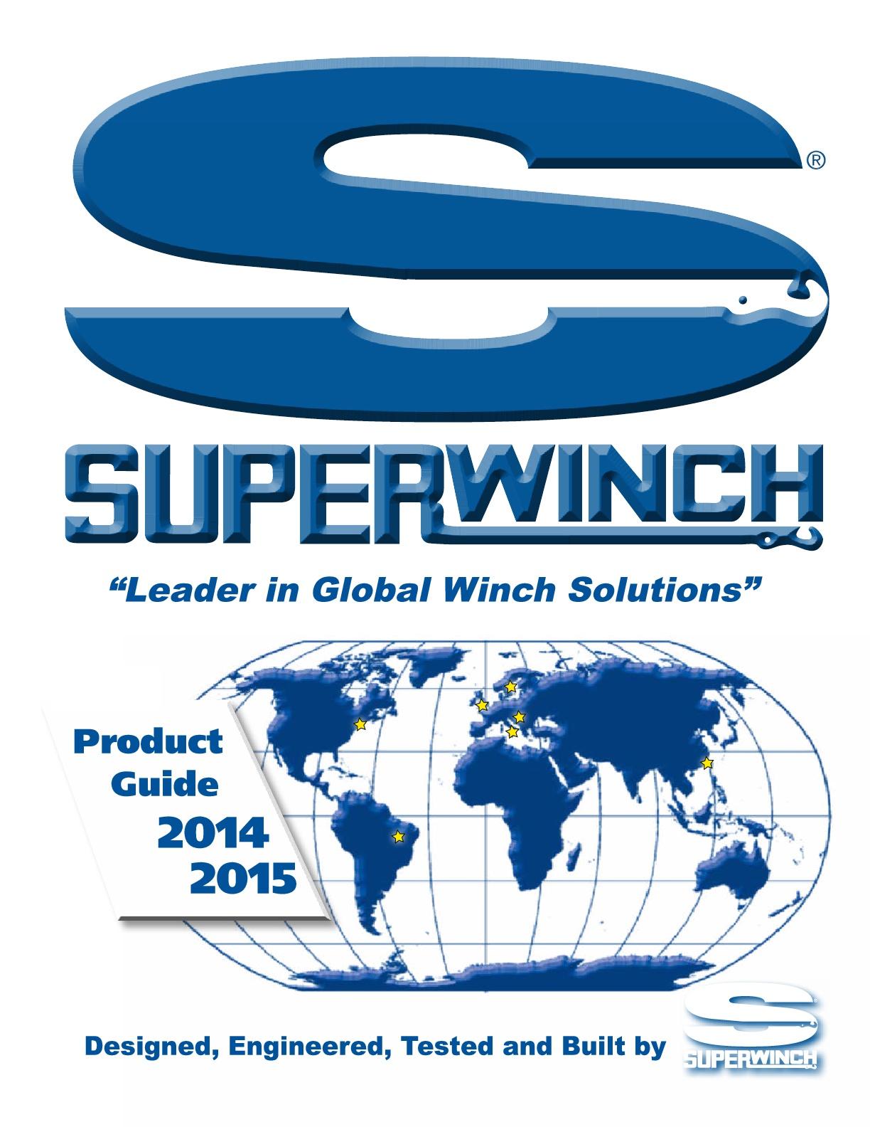 Catálogo General Superwinch